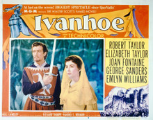This is an image of Vintage Reproduction Lobby Card of Ivanhoe 296222