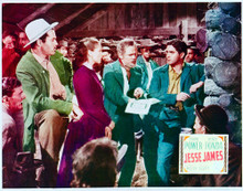 This is an image of Vintage Reproduction Lobby Card of Jesse James 296230