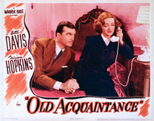 This is an image of Vintage Reproduction Lobby Card of Old Acquaintence 296236