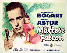 This is an image of Vintage Reproduction Lobby Card of Maltese Flacon 296240