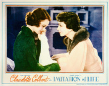 This is an image of Vintage Reproduction Lobby Card of Imitation of Life 296241