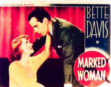 This is an image of Vintage Reproduction Lobby Card of Marked Woman 296259