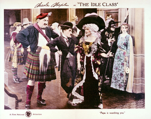 This is an image of Vintage Reproduction Lobby Card of The Idle Class 296277
