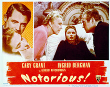 This is an image of Vintage Reproduction Lobby Card of Notorious 296290