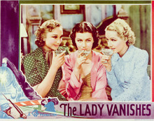 This is an image of Vintage Reproduction Lobby Card of The Lady Vanishes 296302
