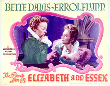 This is an image of Vintage Reproduction Lobby Card of The Private Lives of Elizabeth and Essex 296305