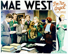 This is an image of Vintage Reproduction Lobby Card of I'm No Angel 296309
