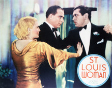 This is an image of Vintage Reproduction Lobby Card of St Louis Woman 296347