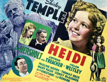 This is an image of Vintage Reproduction Lobby Card of Heidi 296358