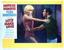 This is an image of Vintage Reproduction Lobby Card of Let's Make Love 296374