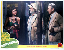 This is an image of Vintage Reproduction Lobby Card of White Cargo 296414