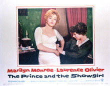 This is an image of Vintage Reproduction Lobby Card of The Prince and the Showgirl 296422