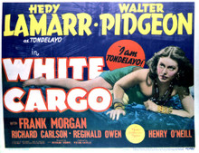 This is an image of Vintage Reproduction Lobby Card of White Cargo 296429