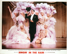 This is an image of Vintage Reproduction Lobby Card of Singin' in the Rain 296448