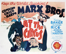 This is an image of Vintage Reproduction Lobby Card of At the Circus 296462