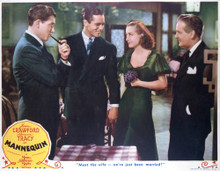 This is an image of Vintage Reproduction Lobby Card of Mannequin 296463