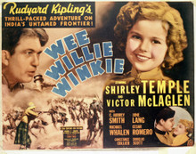 This is an image of Vintage Reproduction Lobby Card of Wee Willie Winkle 296468