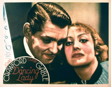 This is an image of Vintage Reproduction Lobby Card of Dancing Lady 296481