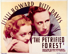 This is an image of Vintage Reproduction Lobby Card of The Petrified Forest 296492