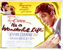 This is an image of Vintage Reproduction Lobby Card of It's a Wonderful Life 296498