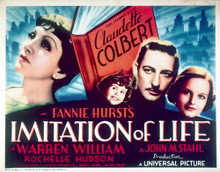 This is an image of Vintage Reproduction Lobby Card of Imitation of Life 296503