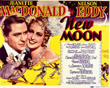 This is an image of Vintage Reproduction Lobby Card of New Moon 296511