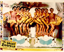 This is an image of Vintage Reproduction Lobby Card of The Great Ziegfield 297238