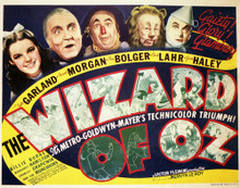 This is an image of Vintage Reproduction Lobby Card of The Wizard of Oz 296905