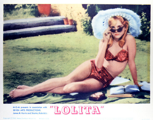 This is an image of Vintage Reproduction Lobby Card of Lolita 296929