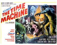 This is an image of Vintage Reproduction Lobby Card of The Time Machine 296999