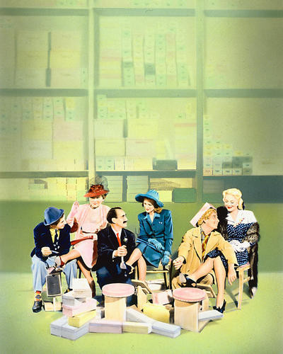 This is an image of Photograph & Poster of The Marx Brothers 250320
