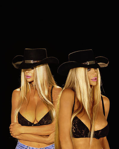 This is an image of Photograph & Poster of Barbi Twins 253952