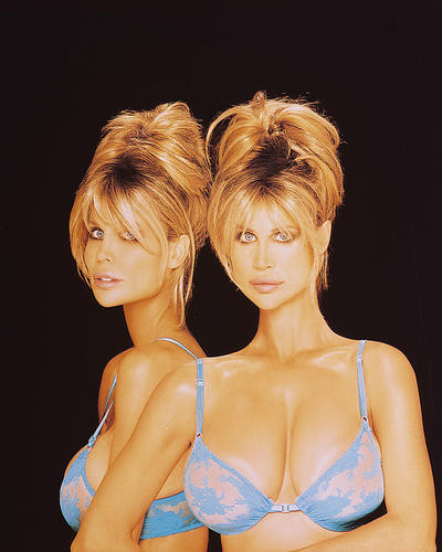 This is an image of Photograph & Poster of Barbi Twins 246340