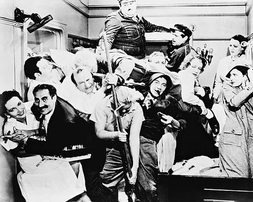 This is an image of Photograph & Poster of The Marx Brothers 15178