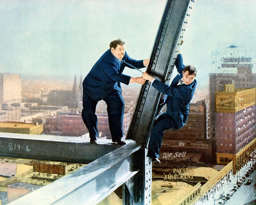This is an image of Photograph & Poster of Laurel and Hardy 287428