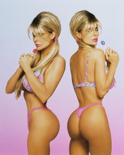This is an image of Photograph & Poster of Barbi Twins 246335