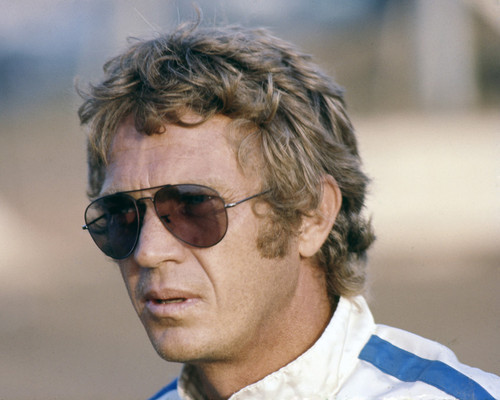 This is an image of Photograph & Poster of Steve McQueen 298503