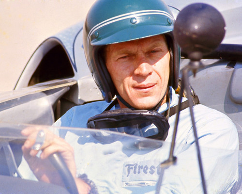 This is an image of Photograph & Poster of Steve McQueen 298506