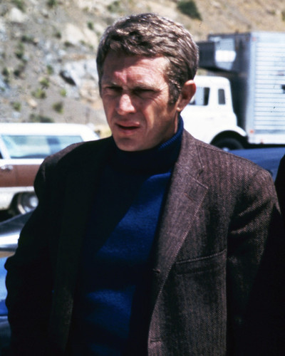 This is an image of Photograph & Poster of Steve McQueen 298517