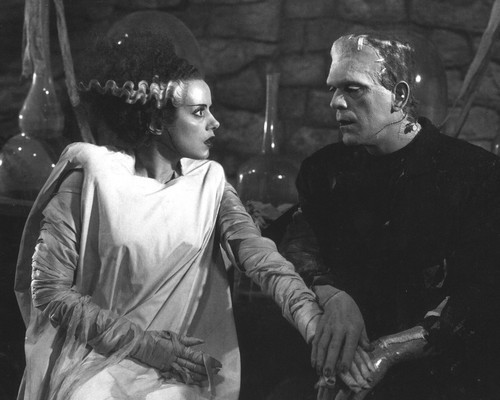 This is an image of Prints & Posters of Bride of Frankenstein 103206