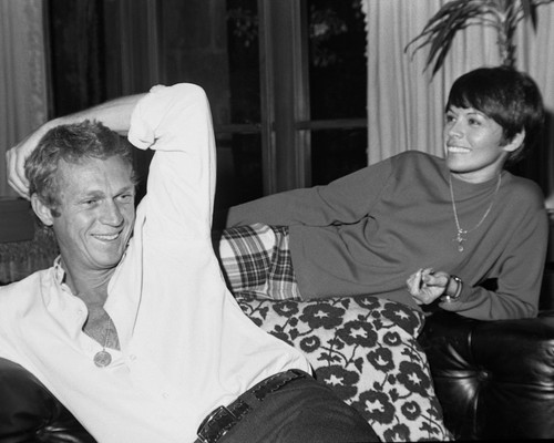 This is an image of Prints & Posters of Steve McQueen 103544