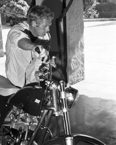 This is an image of Prints & Posters of Steve McQueen 103549