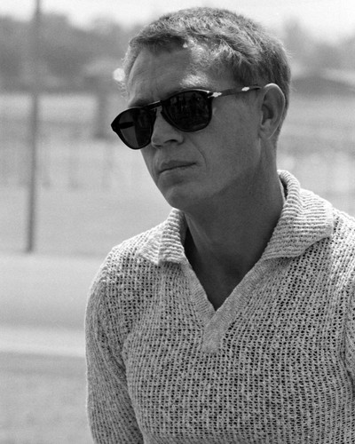 This is an image of Prints & Posters of Steve McQueen 103559