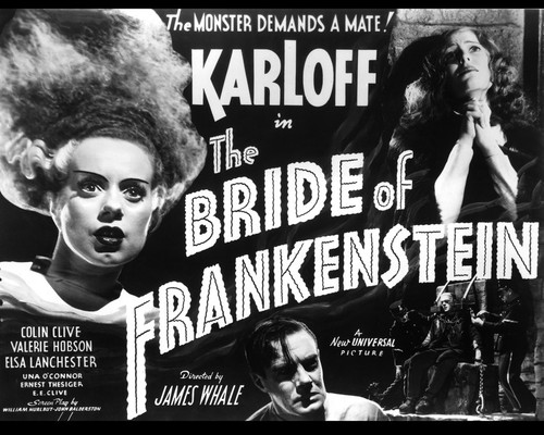 This is an image of Prints & Posters of Bride of Frankenstein 103613