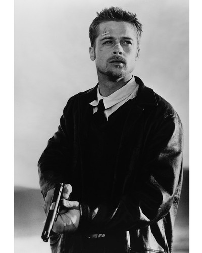 This is an image of Prints & Posters of Brad Pitt 103793