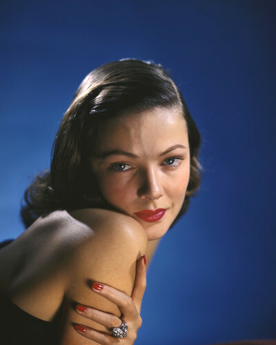 This is an image of Prints & Posters of Gene Tierney 299883
