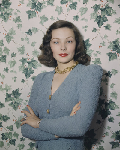 This is an image of Prints & Posters of Gene Tierney 299889