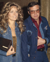 This is an image of Prints & Posters of Farrah Fawcett and Lee Majors 201354