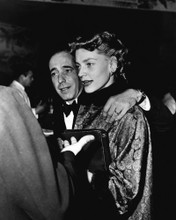 This is an image of Prints & Posters of Humphrey Bogart and Lauren Bacall 104015