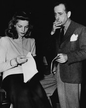 This is an image of Prints & Posters of Humphrey Bogart and Lauren Bacall 104023